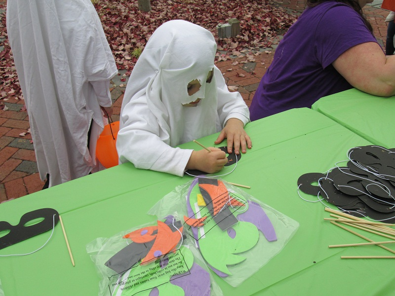 Ghost Mask Making