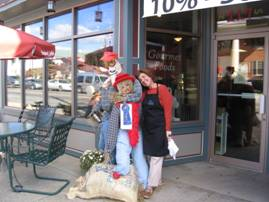 1st Place Scarecrow Contest